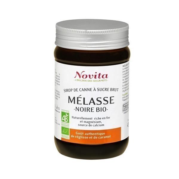 Novita - Mélasse Noire 450g Bio