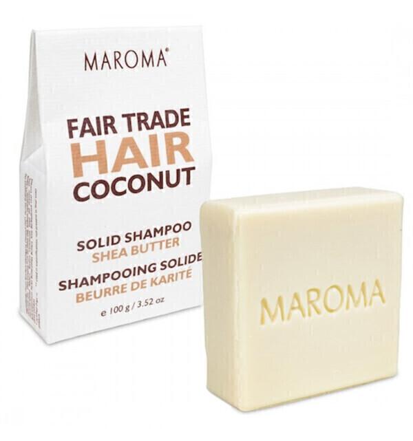 Maroma - Shampoing solide à l'huile de Coco Bio et au beurre de Karité 10
