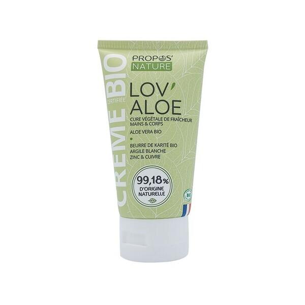 Propos'Nature - Crème Aloe Vera BIO - 100 ml Contenance
