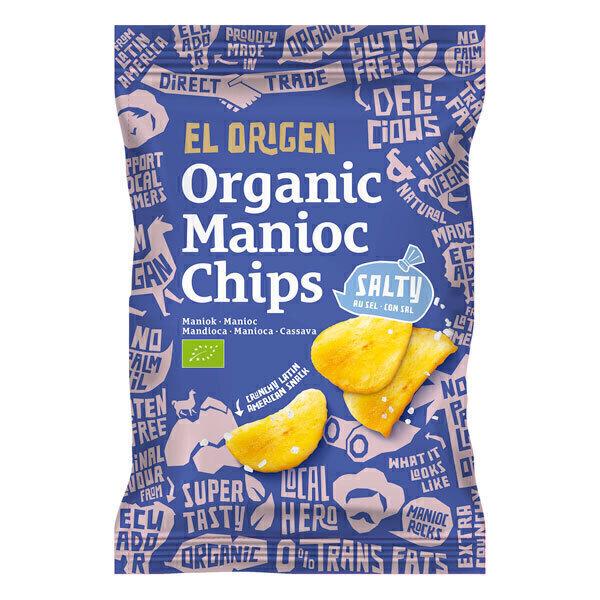 El Origen - Chips de manioc salées 60g