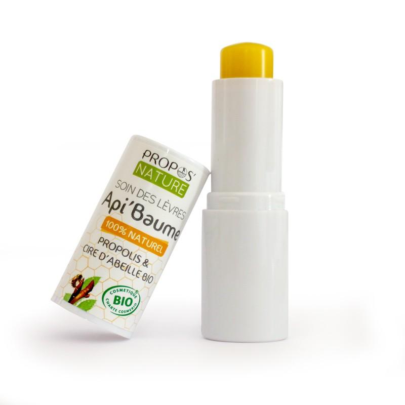 Propos'Nature - Api'baume - Soins des lèvres à la P