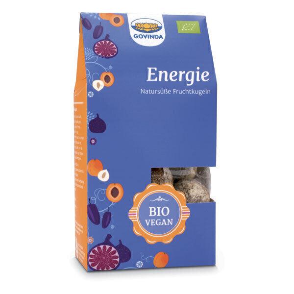 GOVINDA - Boules énergie fruits secs 120g