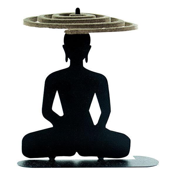 Les Encens du Monde - Porte spirales encens d'été Bouddha