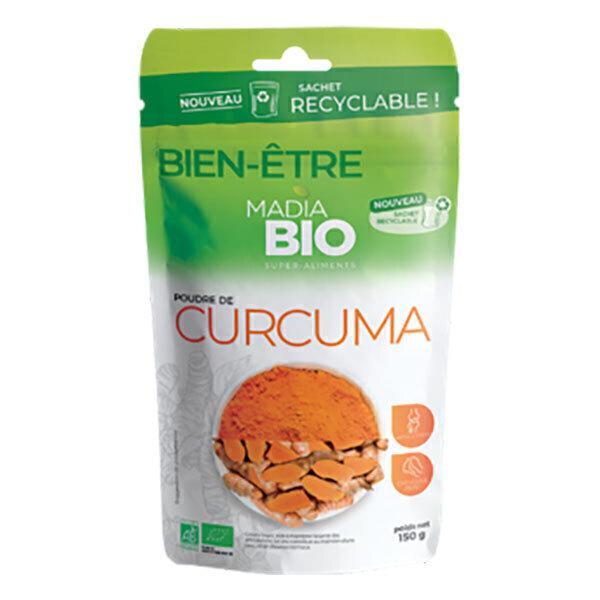Madia Bio - Poudre de curcuma 150g