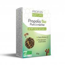 Propos'Nature - Propolis Pure à Mâcher Bio (certifiée AB) - (10g