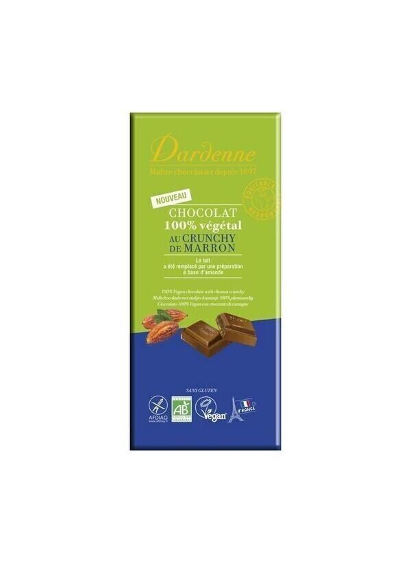 Dardenne - DARDENNE - CHOCOLAT AU LAIT CRUNCHY DE MARRON VEGAN 90G