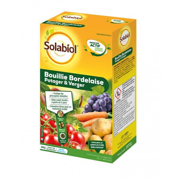 Solabiol - Bouillie bordelaise potager et verger
