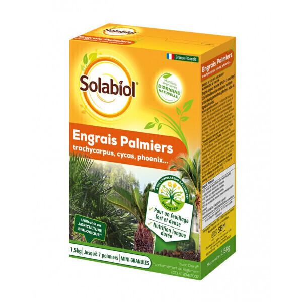 Solabiol - Engrais palmiers et plantes méditerranéennes