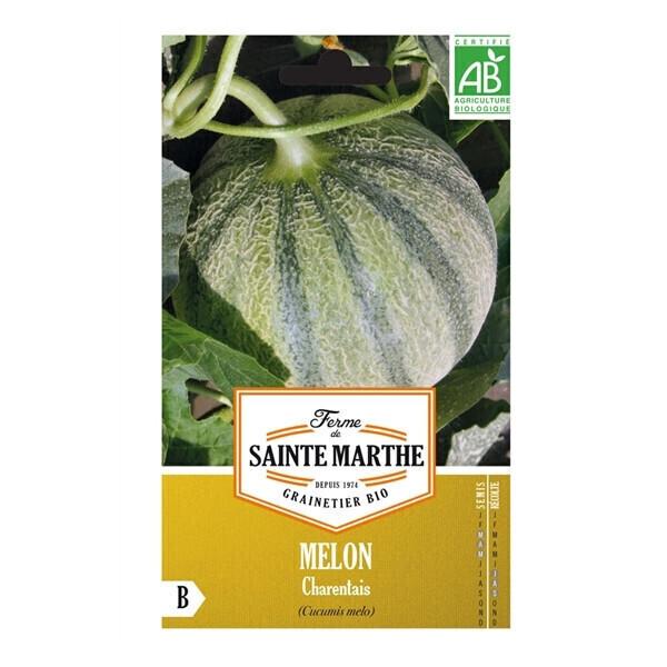 La ferme St-Marthe - Graines de MELON Charentais BIO