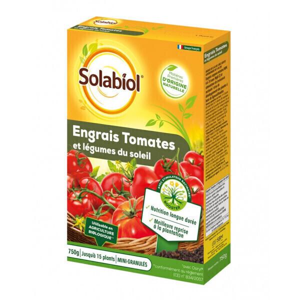Solabiol - Engrais tomates et legumes fruits