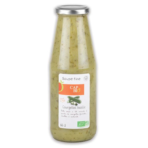 Cap Bio - Soupe Fine Courgettes Basilic BIO