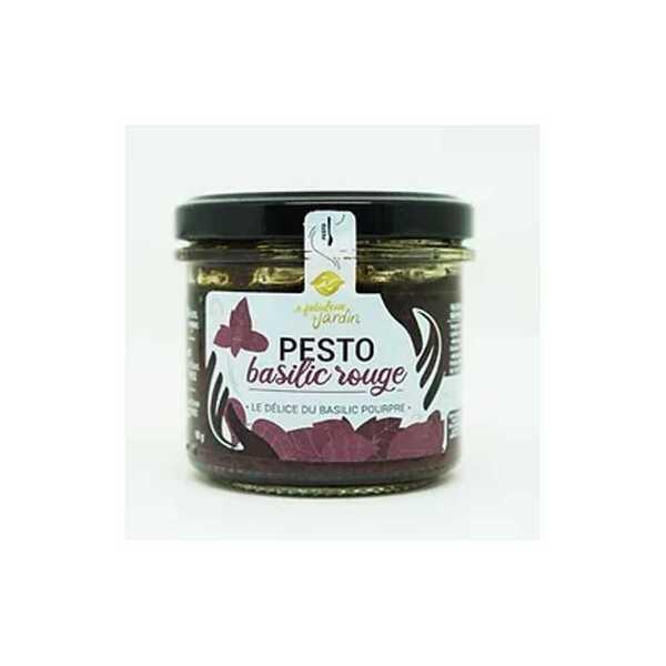 Le Fabuleux Jardin - Pesto Basilic Rouge Bio 90g Le Fabuleux Jardin