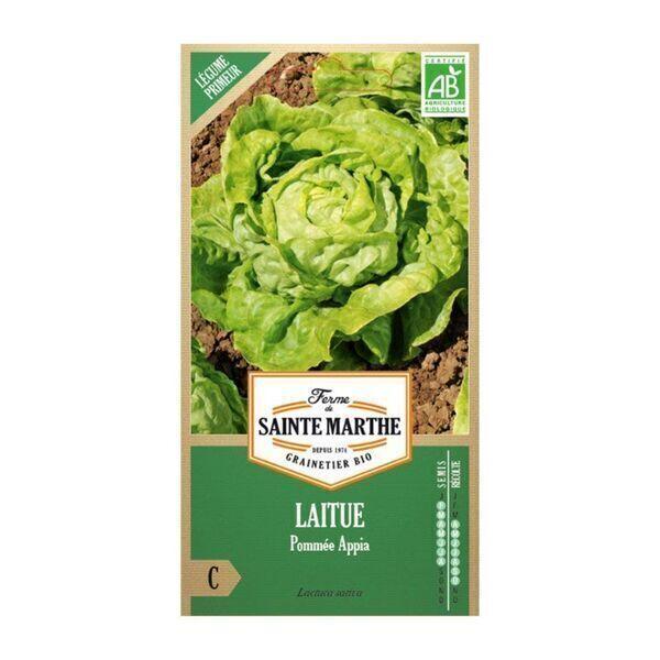 La ferme St-Marthe - Graines de LAITUE Pommée appia BIO