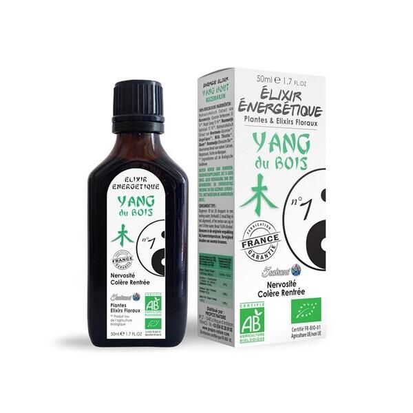 Laboratoire 5 Saisons - Elixir énergétique N 01 Yang du bois (Fo