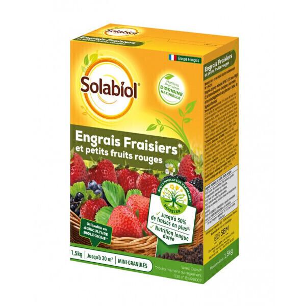 Solabiol - Engrais fraisiers et petits fruits