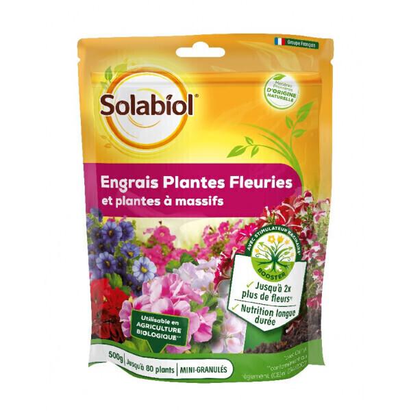 Solabiol - Engrais géraniums et plantes fleuries