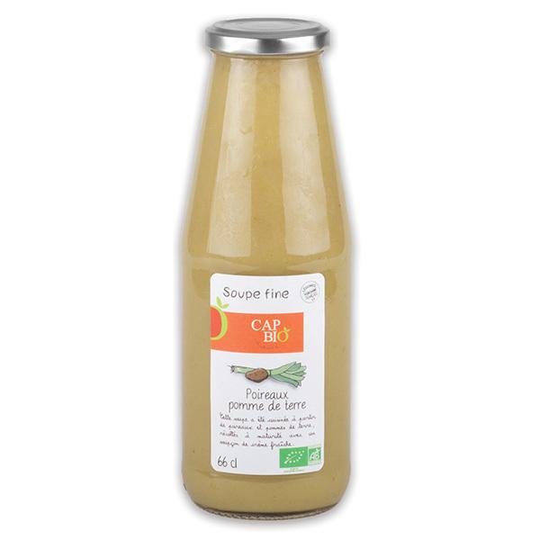 Cap Bio - Soupe Fine Poireaux / Pommes de terre BIO