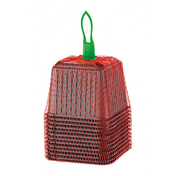Romberg - 12 pots plastiques 9 cm carré