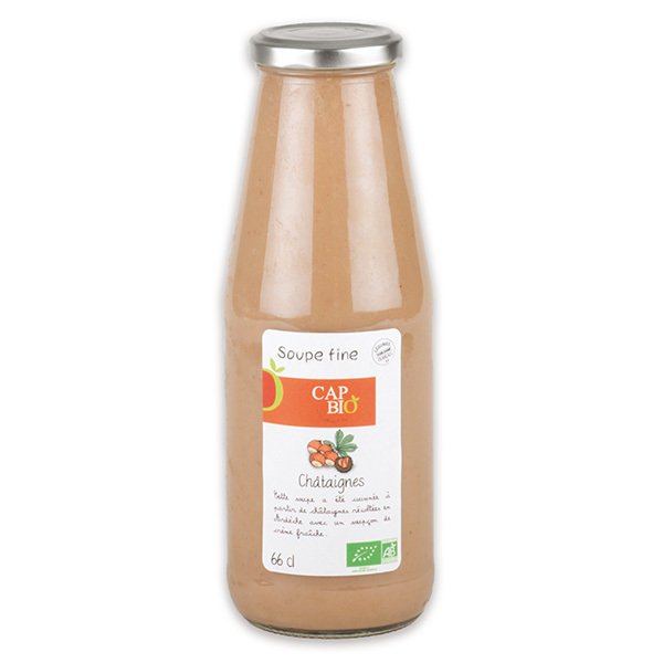 Cap Bio - Soupe Fine de Châtaignes BIO