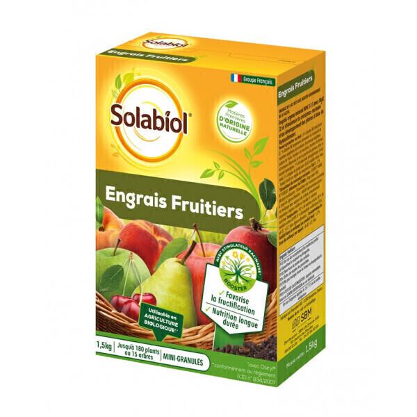 Solabiol - Engrais fruitiers