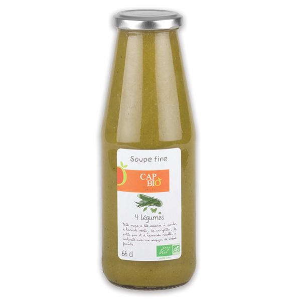 Cap Bio - Soupe Fine aux Quatre Légumes BIO