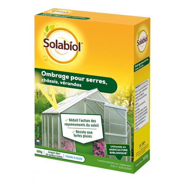 Solabiol - Ombrage pour serres, ch√¢ssis, vérandas (500g)