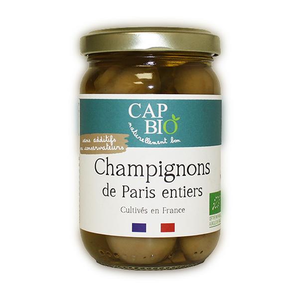 Cap Bio - Champignons de Paris entiers BIO