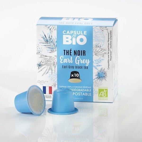 Capsul&bio - Thé noir earl grey bio 10 capsules Nespresso®
