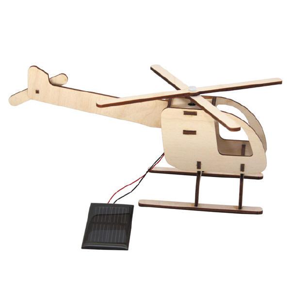 Sol-expert - Kit hélicoptère solaire en bois