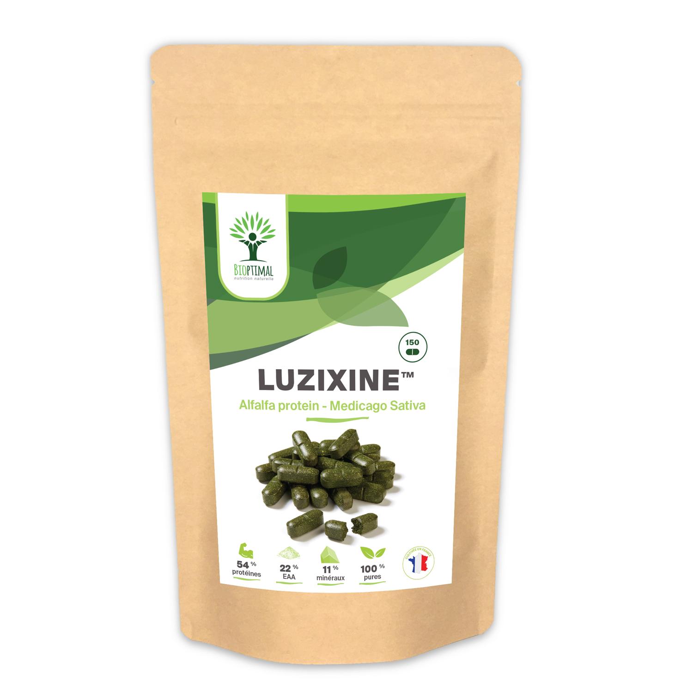 Bioptimal - Luzixine Complément Alimentaire Protéine Luzerne 100 comprimés