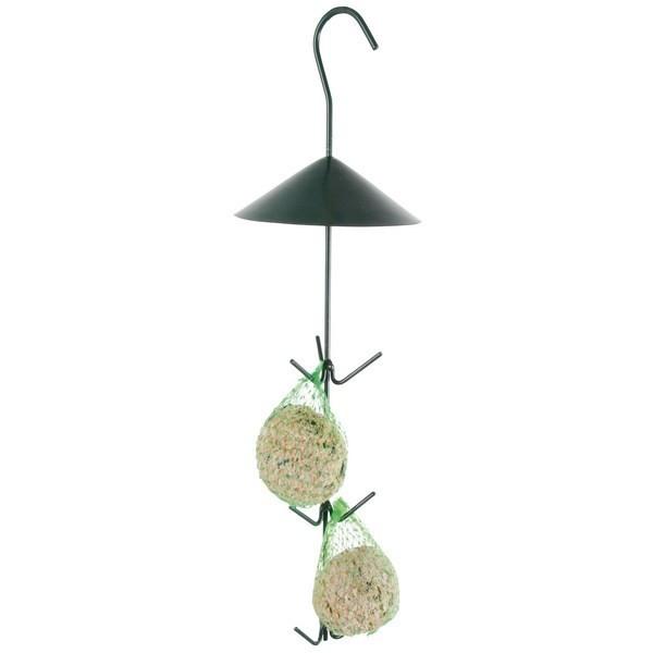 Best for birds - Crochet pour boules de graisse, vert foncé