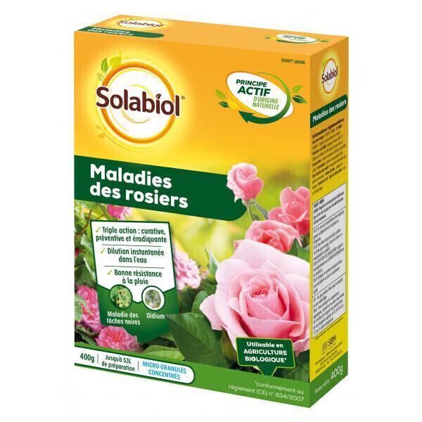 Solabiol - Maladies des rosiers