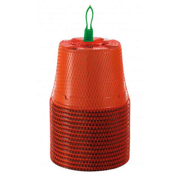 Romberg - 15 pots en plastique 13 cm rond