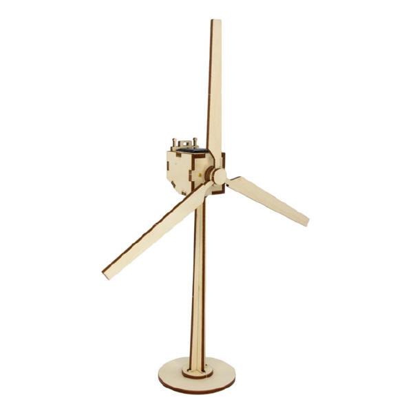 """Sol-expert - Kit éolienne solaire en bois """"Sylt"""""""