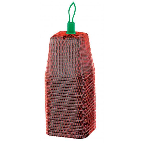 Romberg - 20 pots plastique 7 cm carré