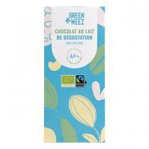 Greenweez - Chocolat lait bio 41% 100g