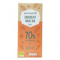 Greenweez - Chocolat noir bio 70% 100g