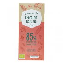 Greenweez - Chocolat noir bio 85% 100g