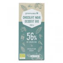 Greenweez - Chocolat noir dessert bio 56% 200g