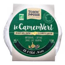Tomm'Pousse - Le Camemvert à l'ail noir 120g