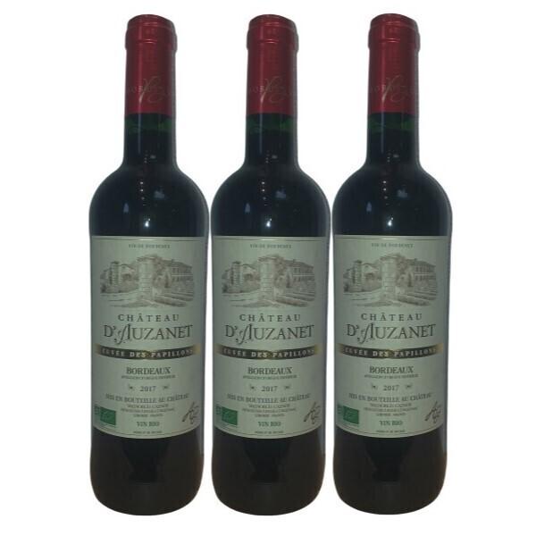 Vinaccus - Bordeaux rouge BIO - Château d'Auzanet 2017- AOC - cuvée des pap