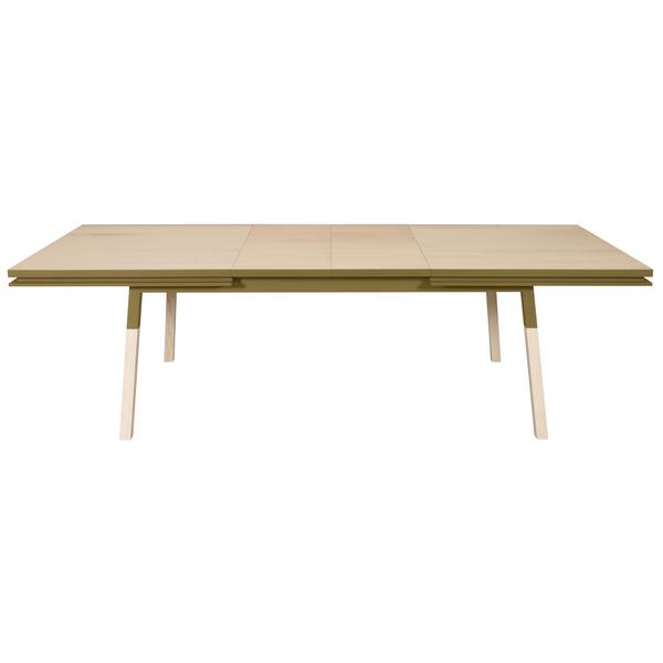 Mon petit meuble français - Table extensible bois massif 220x100 cm