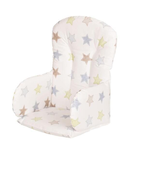 Geuther - Coussin réducteur de chaise haute Family, Filou et Mucki étoiles