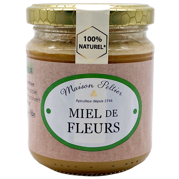 Le Manoir des Abeilles - Miel de Fleurs Crémeux 250G BIO UE