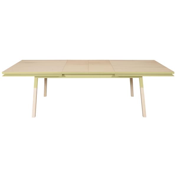 Mon petit meuble français - Table extensible bois massif 200x100 cm