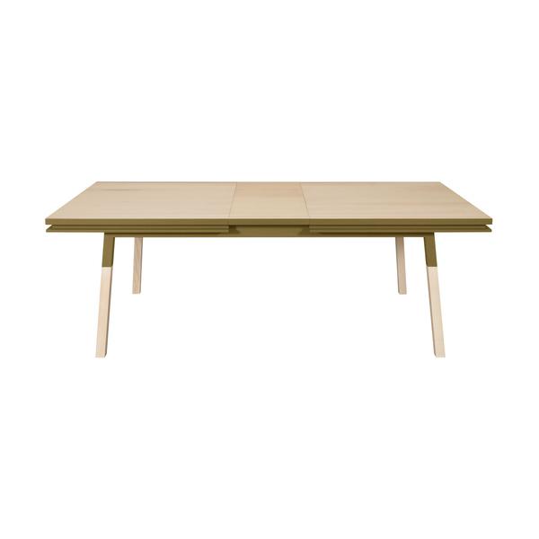 Mon petit meuble français - Table extensible bois massif 180x100 cm