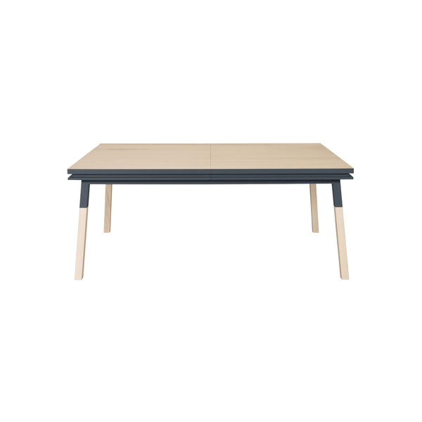 Mon petit meuble français - Table extensible bois massif 160x90 cm