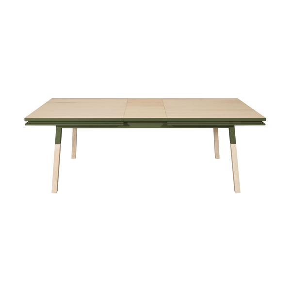 Mon petit meuble français - Table extensible bois massif 120x80 cm