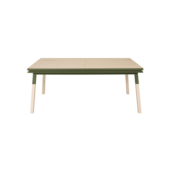 Mon petit meuble français - Table extensible bois massif 140x90 cm