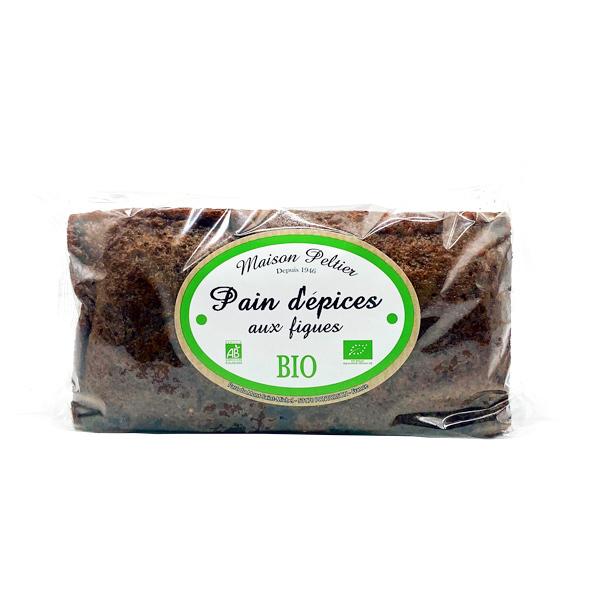 Le Manoir des Abeilles - Pain d'épices aux figues BIO